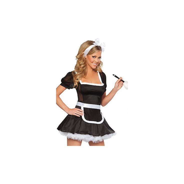 French Maid Halloween Costume LAVELIQ