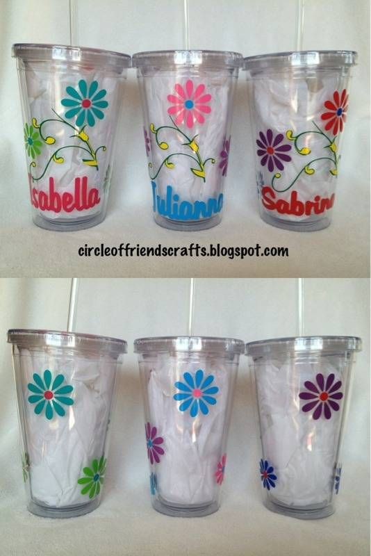Best The Cutest Of All Cups Images On Pinterest - Vinyl for cups