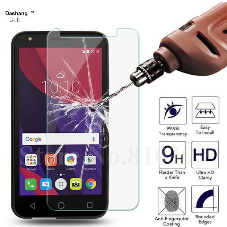 """9H Tempered Glass For Alcatel One Touch Pop 2 4.5"""" 5.0"""" Pop 3 5.0"""" 5.5"""" Pop 4 4S Star idol 2 idol 3 4 4S 5.0"""" 5.5""""Screen Guard"""