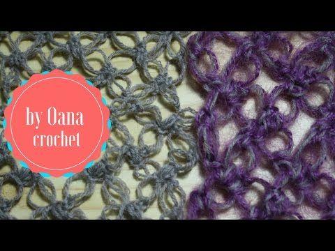 Crochet 3 versions of Solomon's knot - YouTube