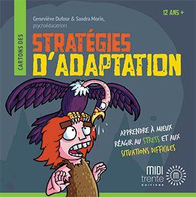 Éditions Midi trente - Cartons des Stratégies d'adaptation
