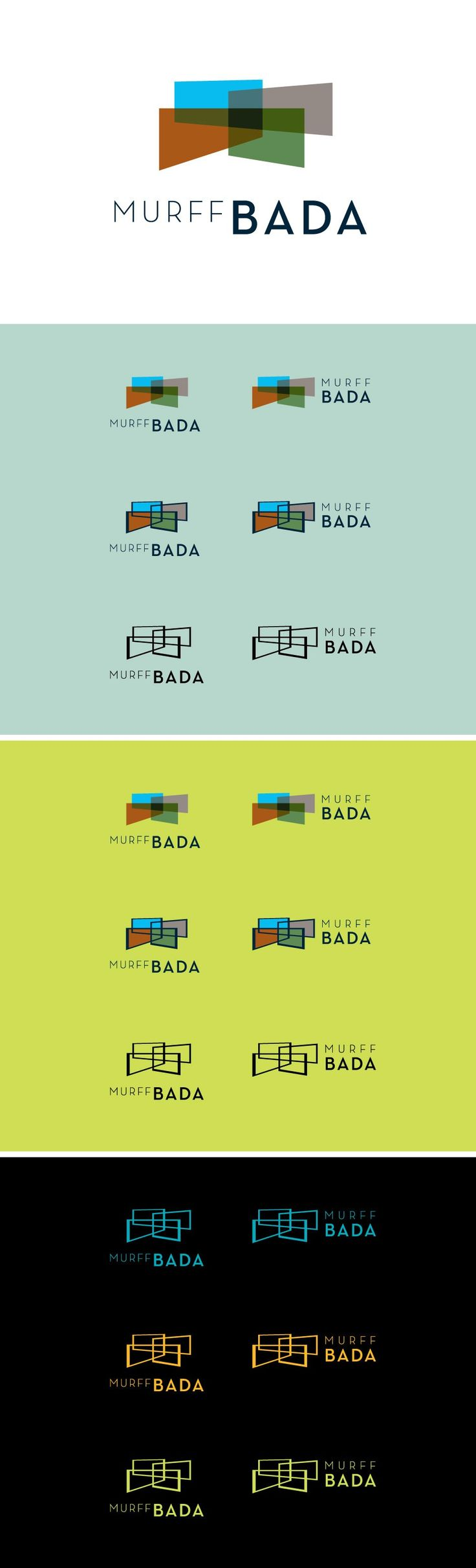 MURFF BADA Logo Family Architect