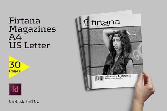Firtana Magazines by Firtana on @creativemarket