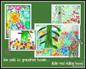 Path to grandmas house - book and project