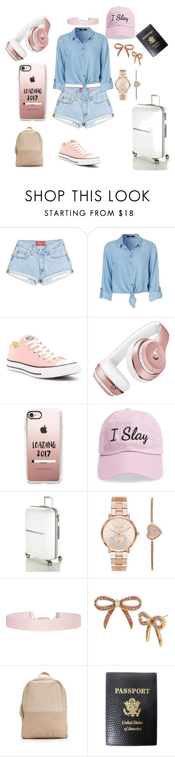 """Cuba!!!! Here I Come!!!"" by sunny-heaven ❤ liked on Polyvore featuring Converse, Beats by Dr. Dre, Casetify, Steve Madden, Michael Kors, Humble Chic, Betsey Johnson and Mark Cross"