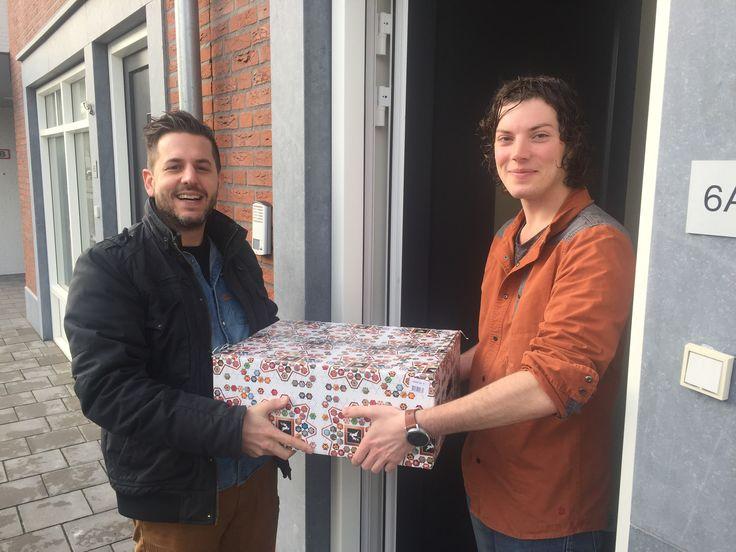 Tim van Iersel is de gelukkige winnaar van de Farla Webmedia Loterij van de adventskalender. Gefeliciteerd!