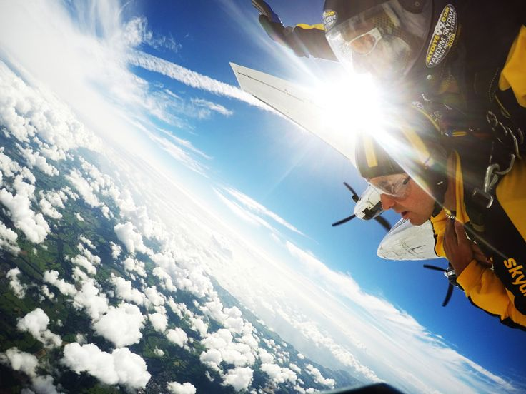 Tandem Skydive UK, placed in Llandogo perfect for those searching for excitement
