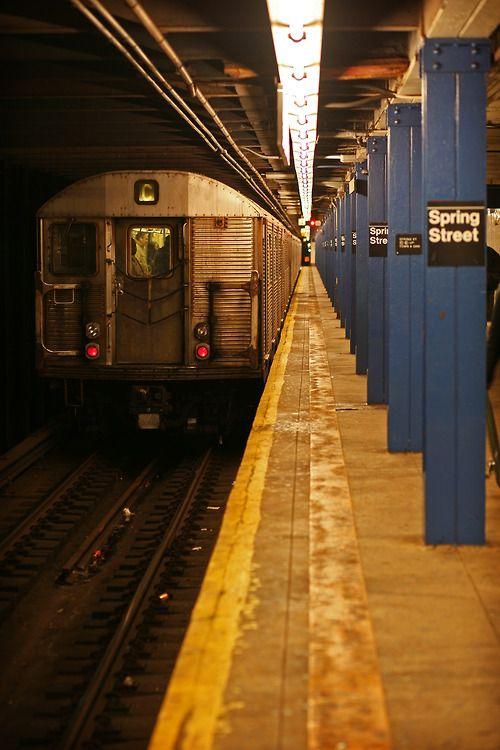 NY - subway-always an adventure! Ny Subway/ Robb's bathroom idea