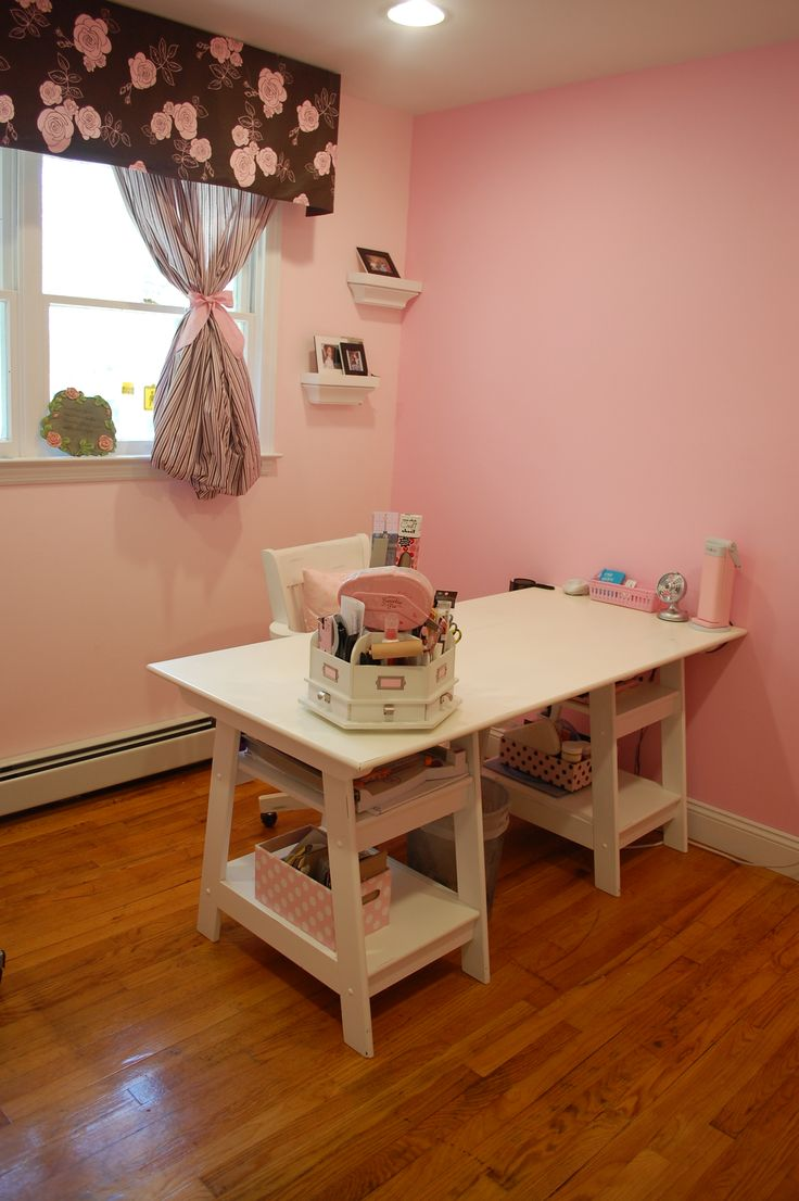 Scrapbooking Rooms Study Place Ideas Organizing Mon Coin Scrap Rooms