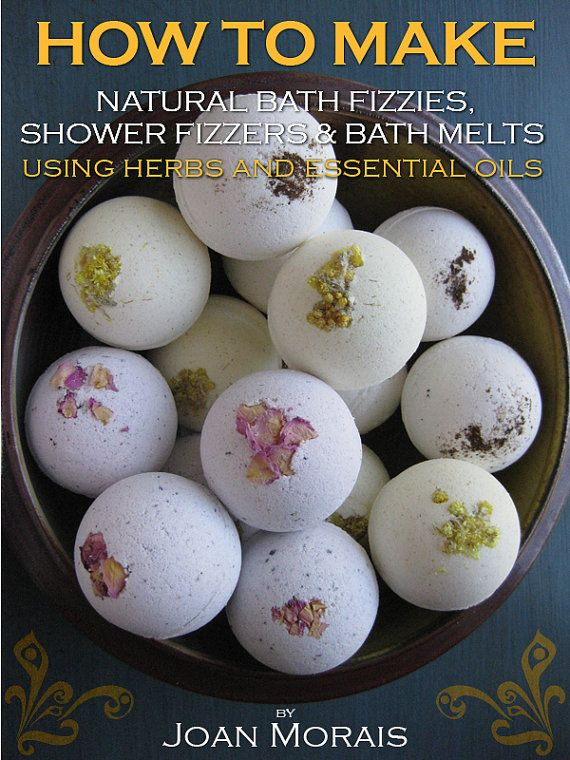 How To Make Natural Bath Fizzies Shower by JoanMoraisNaturals, $9.99