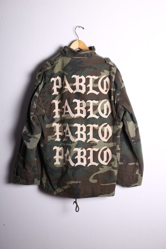 I feel like pablo JACKET by moderntraplife on Etsy