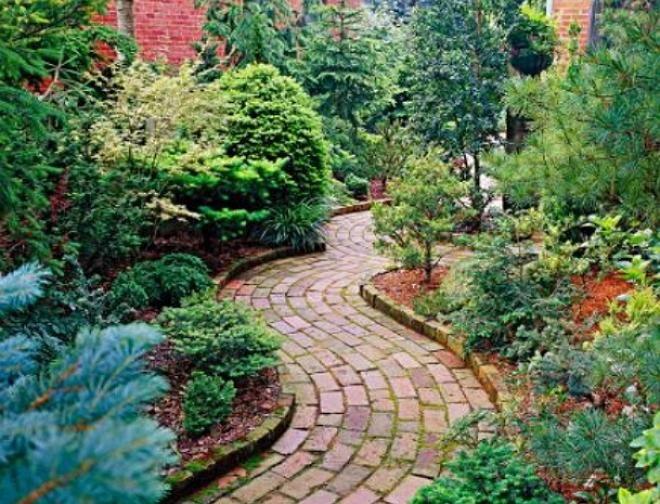 Садовые дорожки своими руками: 9 оригинальных идей | Дизайн участка (Огород.ru)