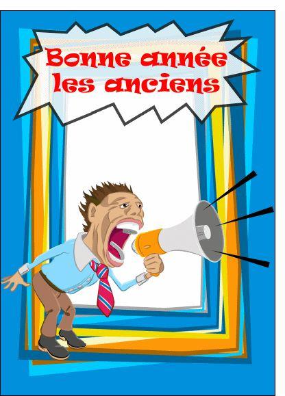 Les 25 meilleures id es concernant carte de voeux for Carte de voeux humour