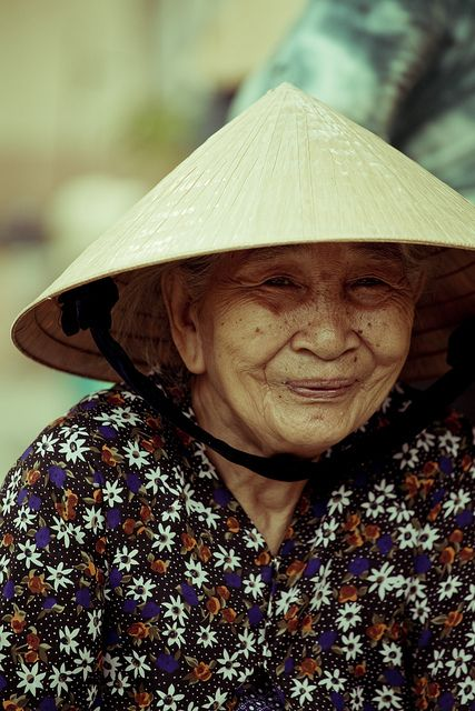 Image result for the happy elderly in viet nam