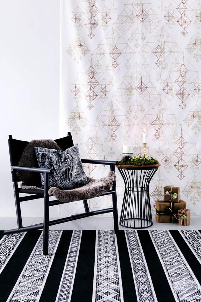 Himmeli curtain by Vilma Pellinen