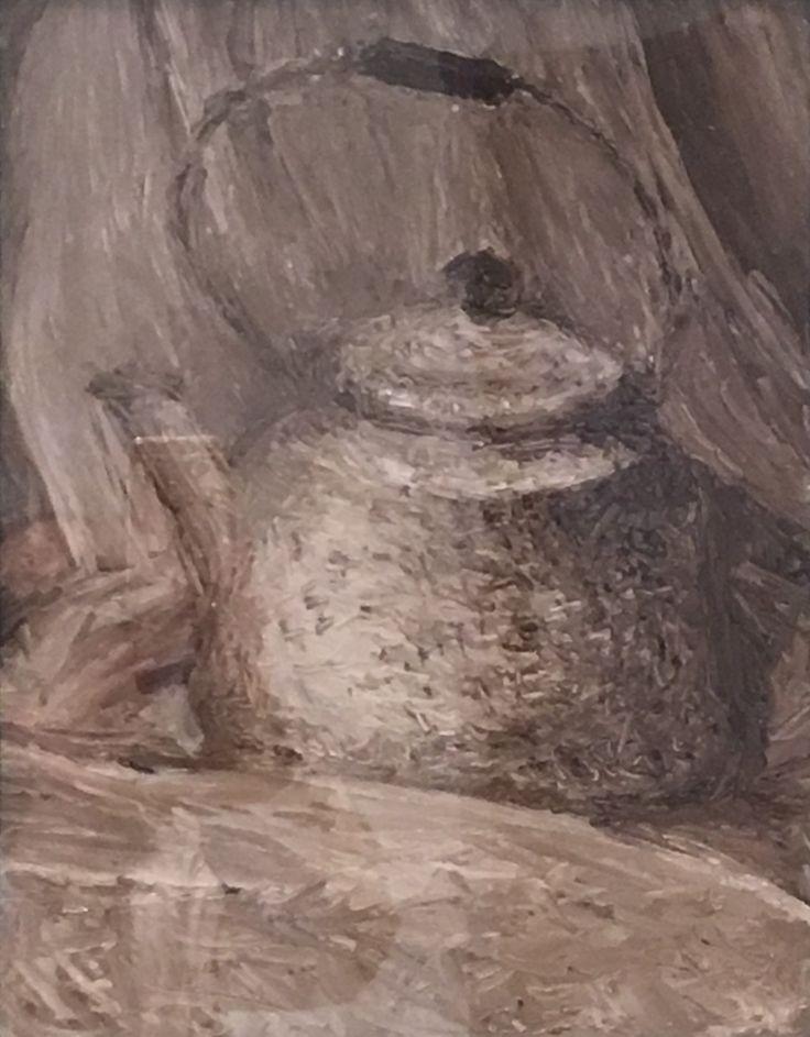 Study #3. 2017. 11 x 14. Oil on Canvas.