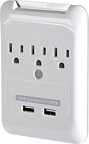 BestBuy- Plug-N-Power Charging Station with USB Charging Ports. Gotta get one of these!