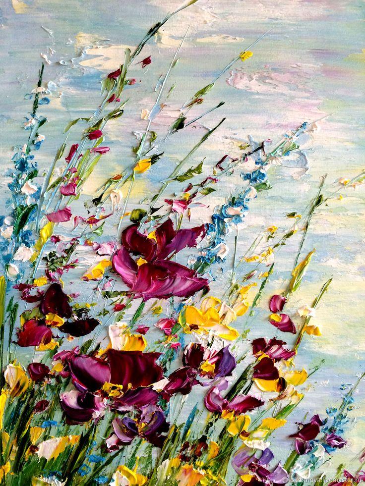 Summer Landscape, oil painting   Летний пе…