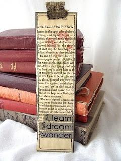 41 verschiedene Ideen und Anleitungen für Lesezeichen