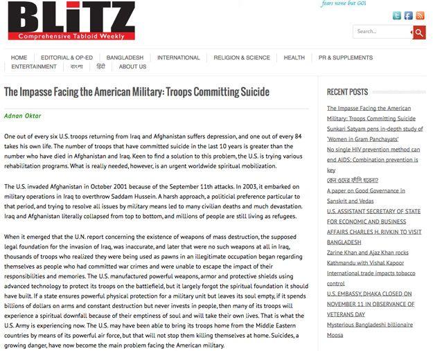 Amerikan Ordusunun Çıkmaz Sokağı: İntihar Eden Askerler