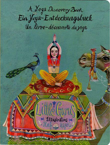 PAGE Online - Illustriertes Yogabuch von Olaf Hajek