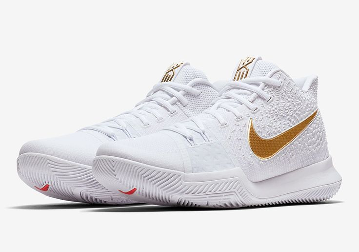 Nike Kyrie 3 White Gold 378037 003 | Sneakers in 2019