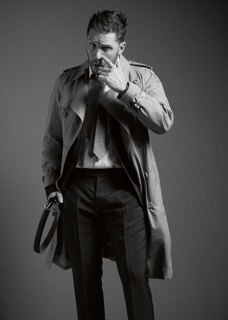 Tom Hardy - UK Esquire January 2017