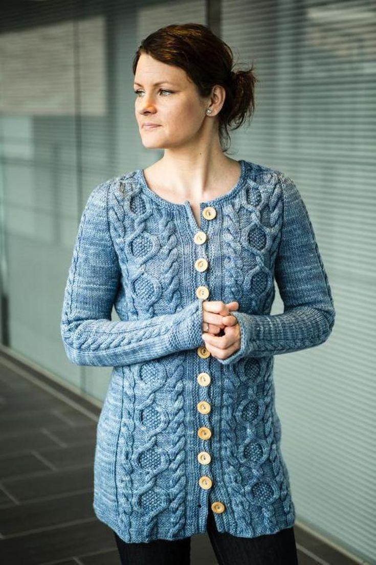 Tavie Sweater Knitting Pattern