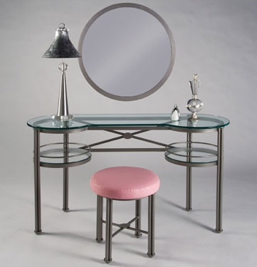 Vanity And Stool From Johnston Casuals, Like Us On Facebook!