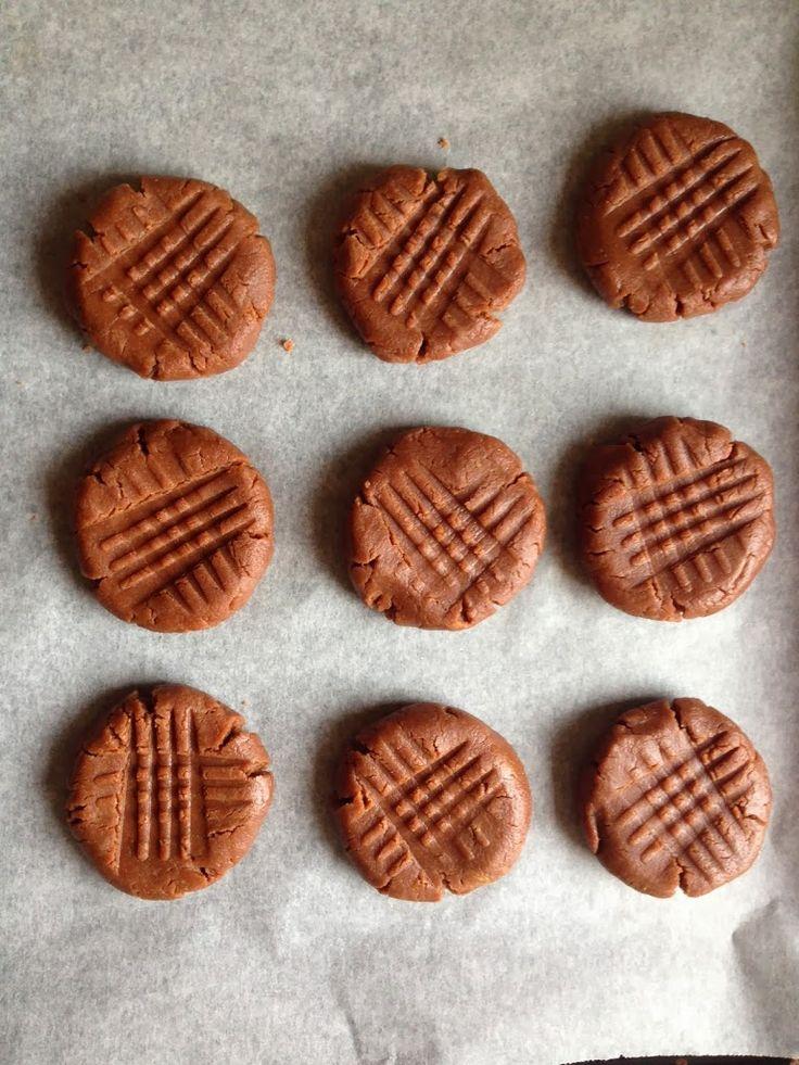 Biscotti Nutella e burro di arachidi