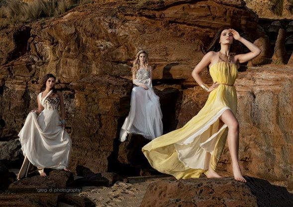 Leiela gowns featured in photoshoot by Greg D Photography