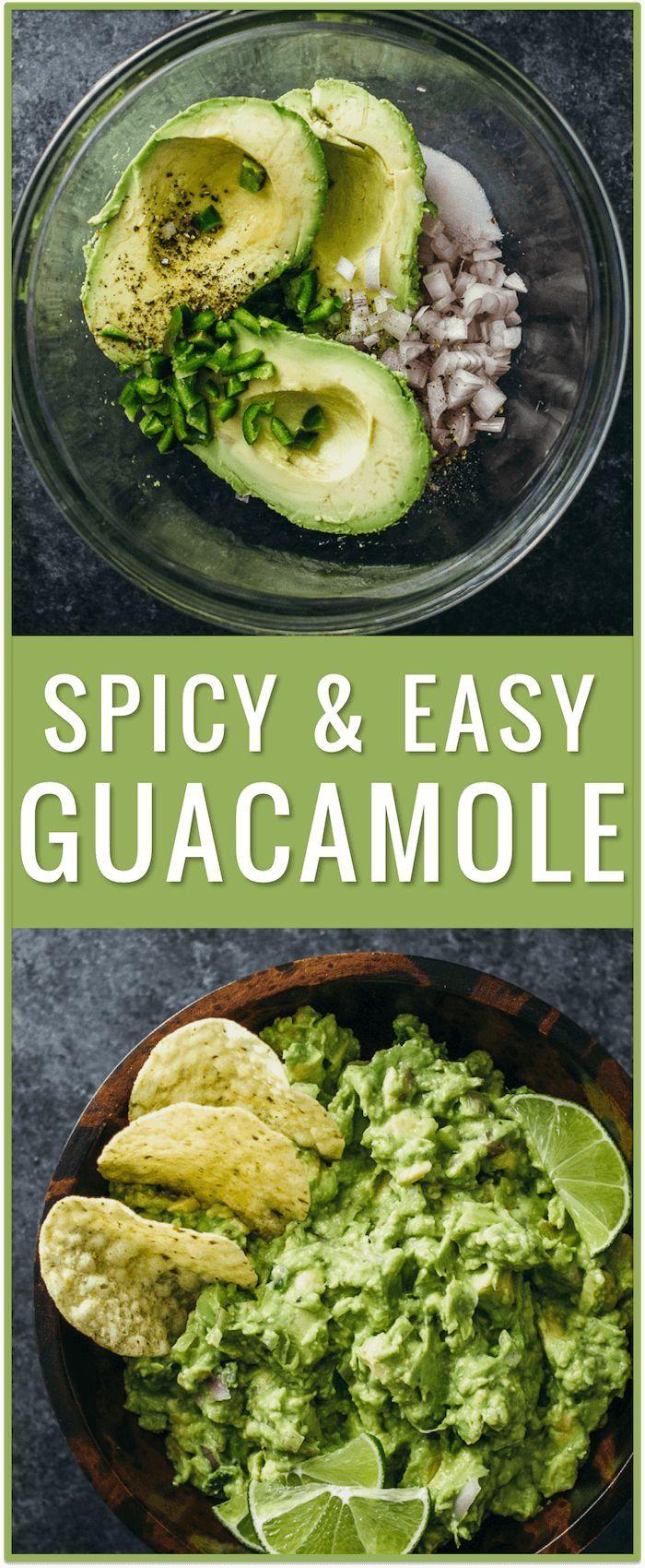 easy guacamole recipe, guacamole dip, guacamole ingredients, spicy guacamole, healthy guacamole, best guacamole, authentic guacamole, mexican guacamole, chipotle, perfect guacamole via @savory_tooth