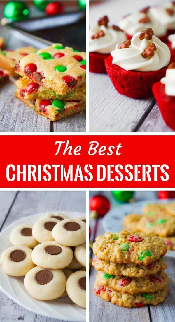Christmas Dessert Recipes Including Christmas Cookie Bars Christmas