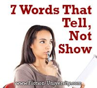 By Janice Hardy, @Janice_Hardy    This week's Refresher Friday takes another look at one of my favorite subjects--show, don't tell!    ...