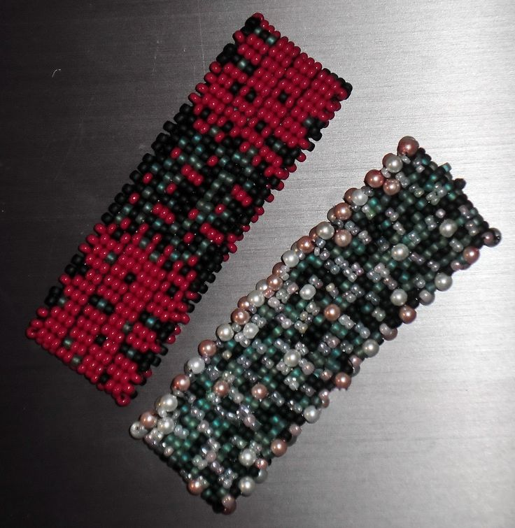 Delica beads cuffs