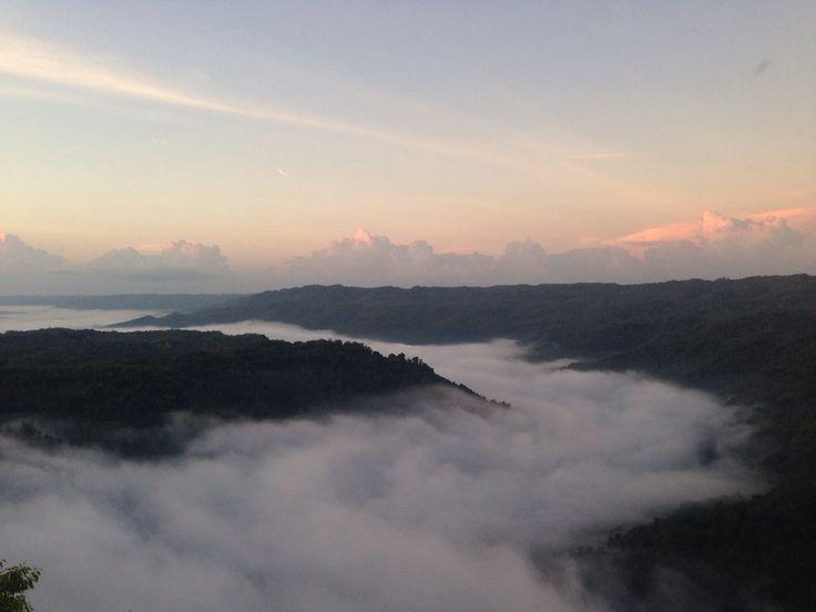 #cloud #sunrise #yogyakarta