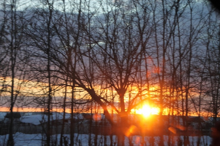 Sunset Flare, Winter