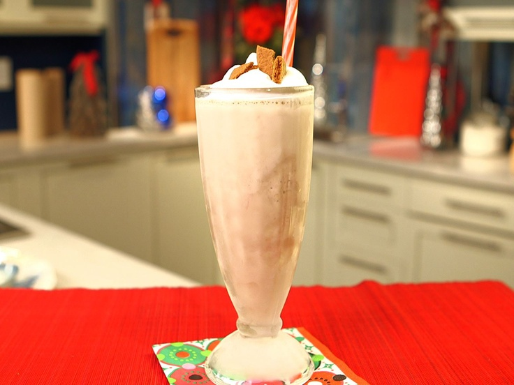 Egg Nog Milkshake from CookingChannelTV.com