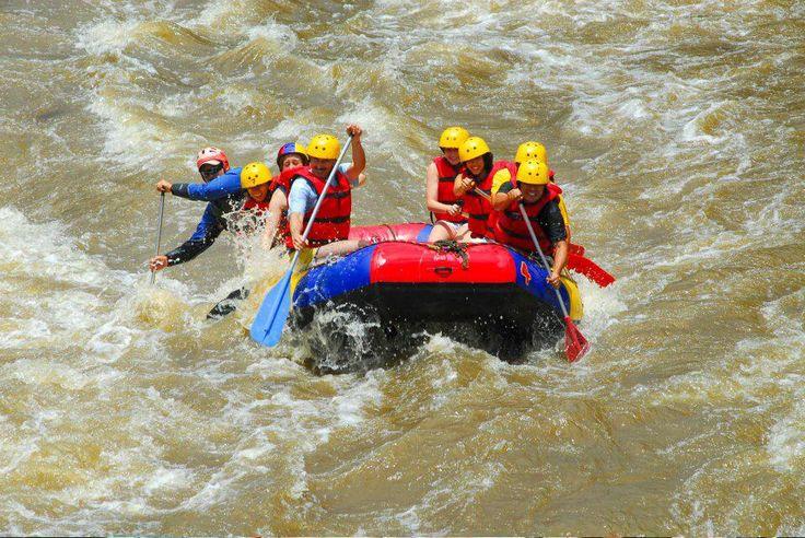 Rafting en Santander Colombia