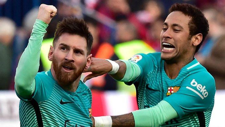 Lionel #Messi Scores A Late Winner To Lift #Barcelona Over #AtleticoMadrid. #Lionel #LionelMessi #soccergoals