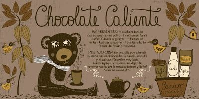 Cositas Ricas Ilustradas por Pati Aguilera: Chocolate Caliente