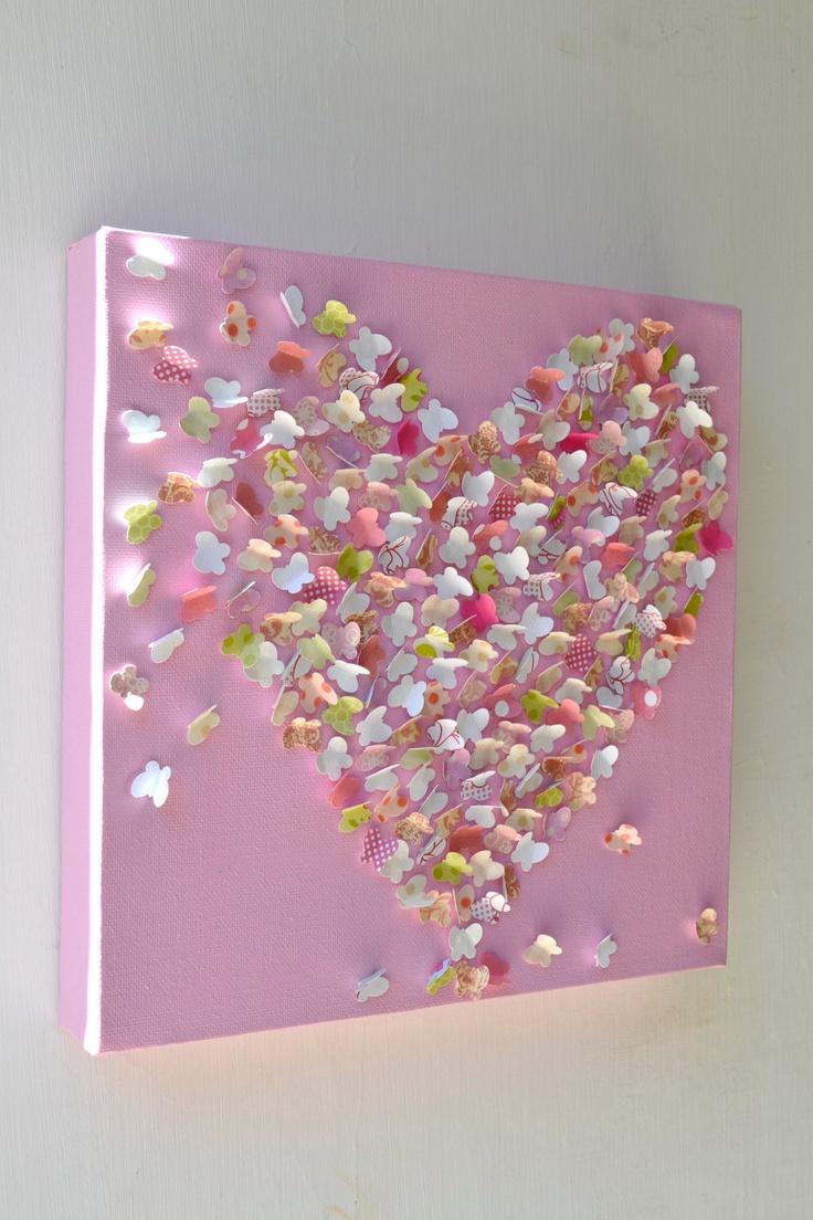 1000 images about pink ombr heart frames on pinterest for 3d baby room design