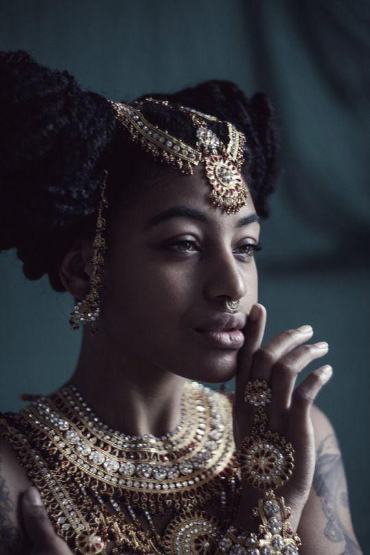 Natural Hair Queen, Black Beauty, Black Girl, Natural Hair Style, Dark Skin Make Up