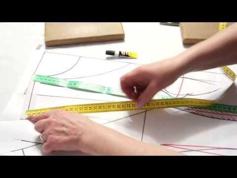 Базовая выкройка: как легко делать выкройки на себя. Метод Галины Коломейко - YouTube
