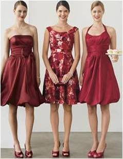 mismatched bridesmaid