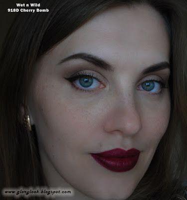 Сливовая помада Wet n Wild Mega Last Matte Lip Cover в оттенке WW918D Cherry Bomb ~ GLORYlook