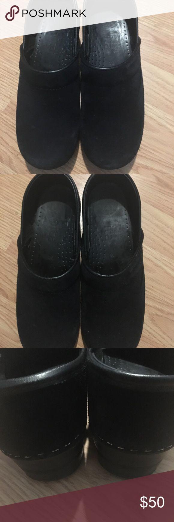 Sanita shoes Dark navy blue great condition Sanita Shoes Mules & Clogs
