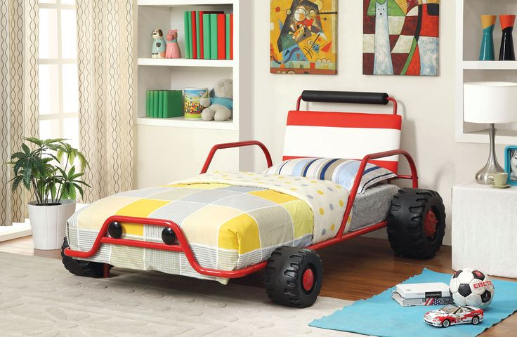 Turbo Twin Metal Car Bed Frame #carbed
