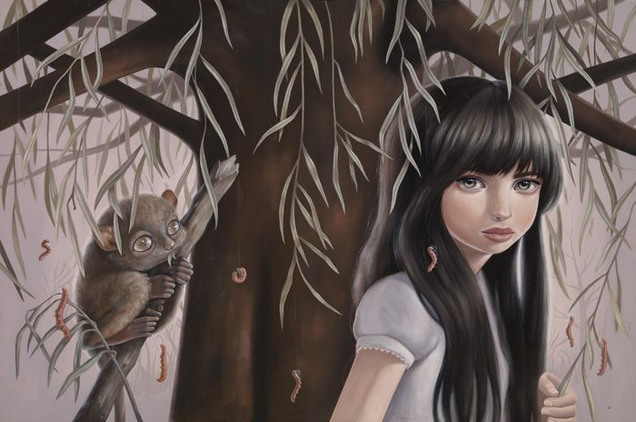 Willow by Ana Bagayan    (Oh, I see you, Tarsier!)