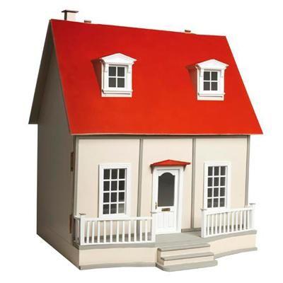 Casa Andrea en kit. Desmontada y sin pintar. No incluye mobiliario, pintura ni papeles para empapelar. #casasdemuñecas #miniaturas #miniatures #dollhouses #dollhouse #miniature https://www.tiendadecasitas.com/producto/9372/ch21133-casa-andrea-en-kit